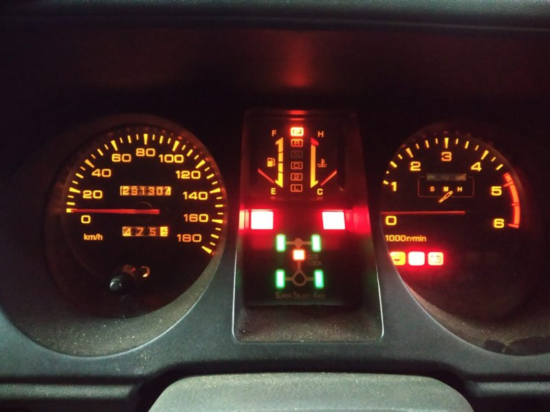 Спидометр Mitsubishi Pajero V26C 4M40 1994