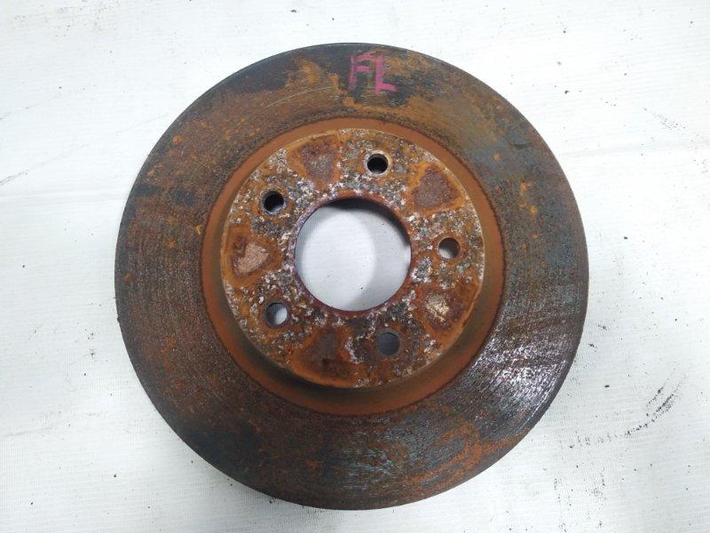 Тормозной диск Mitsubishi Rvr GA3W 4B10 2010 передний левый