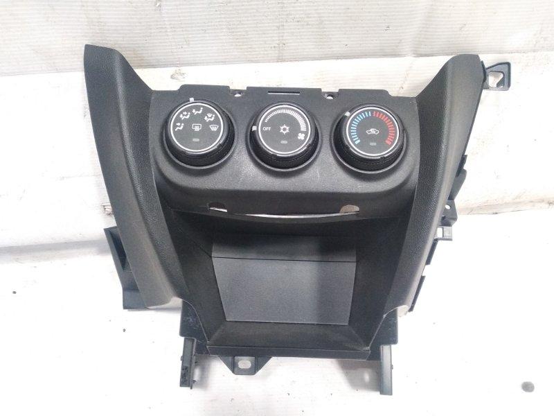 Блок управления климат-контролем Mitsubishi Rvr GA3W 4B10 2010 передний