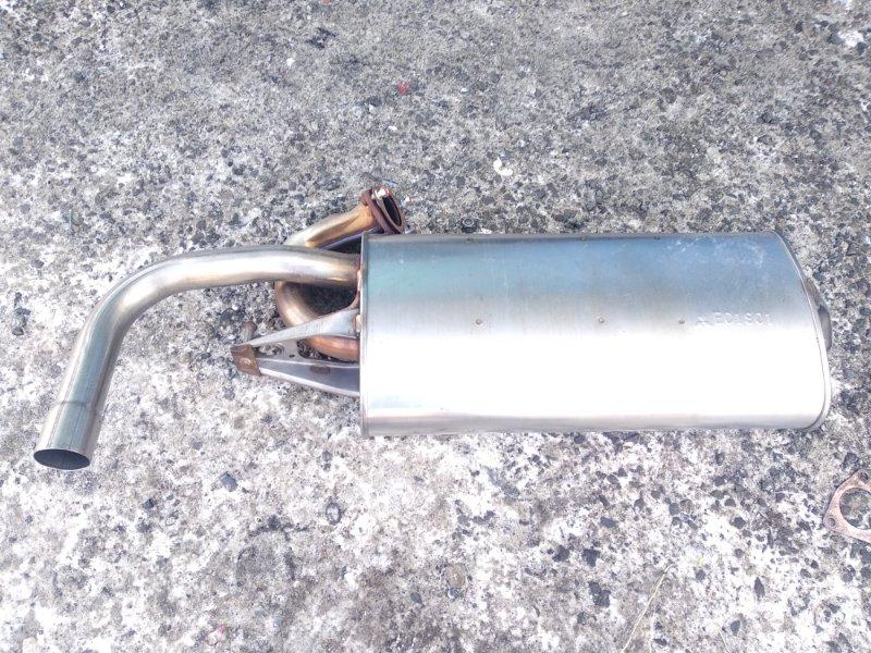 Бочка глушителя Mitsubishi Rvr GA3W 4B10 2010 задняя