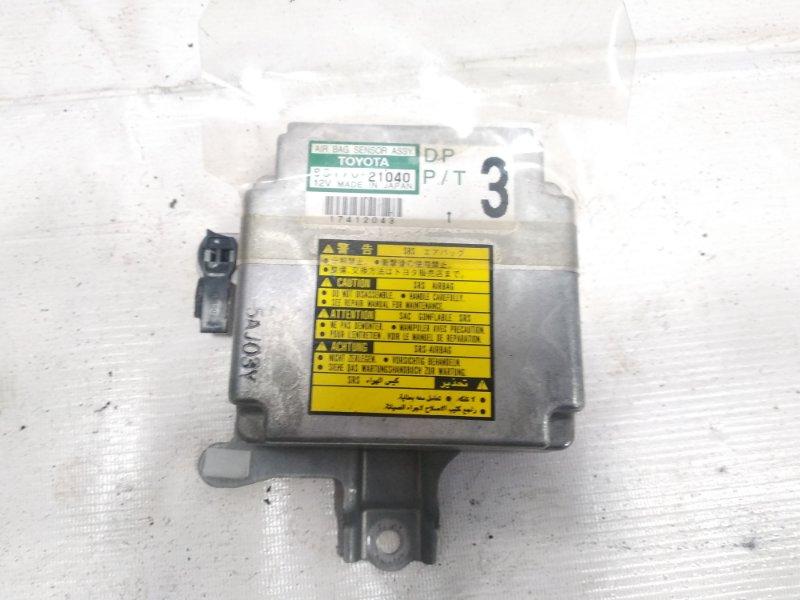 Блок управления airbag Toyota Corona Premio ST215 3SFE 2001
