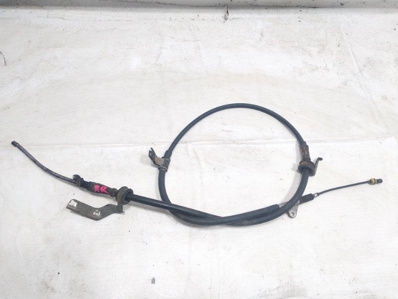 Тросик ручника Toyota Caldina CT215 3SFE 2001 задний правый