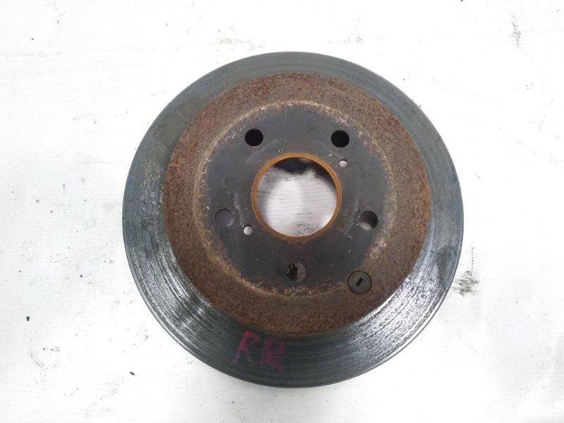 Тормозной диск Toyota Estima AHR20W 2AZFXE 2009 задний правый