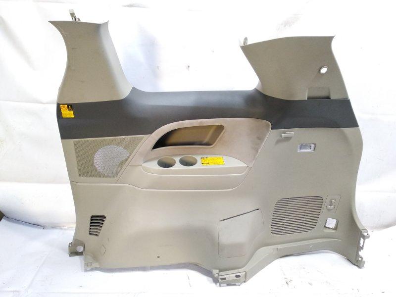 Обшивка багажника Toyota Estima AHR20W 2AZFXE 2009 задняя правая