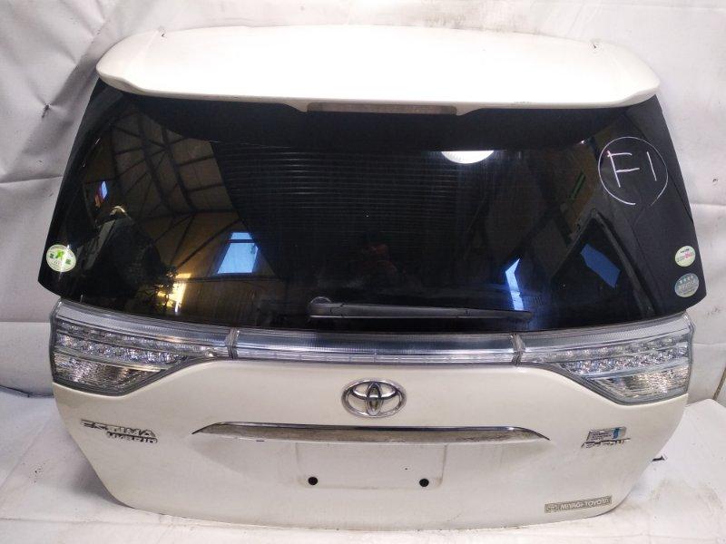 Дверь 5я Toyota Estima AHR20W 2AZFXE 2009 задняя