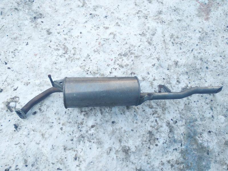 Бочка глушителя Toyota Platz NCP12 1SZFE 2003 задняя