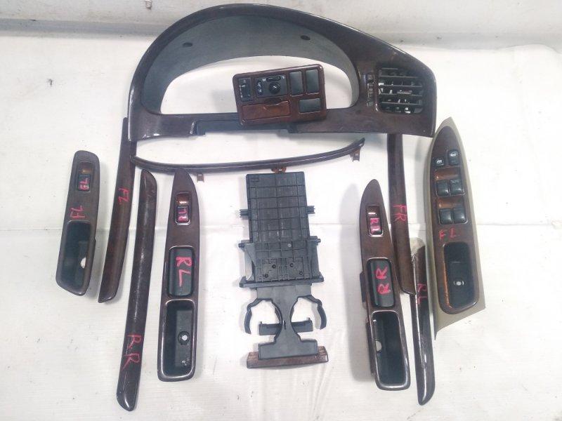 Блок управления стеклами Nissan Presage HU30 KA24DE 1998 задний левый