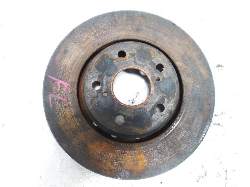Тормозной диск Toyota Estima AHR20W 2AZFXE 2009 передний левый