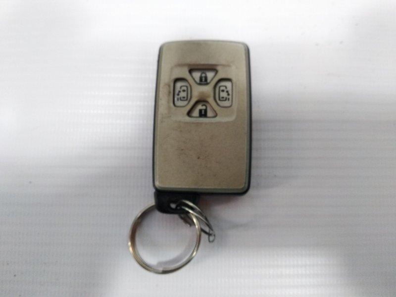 Ключ зажигания Toyota Estima AHR20W 2AZFXE 2009