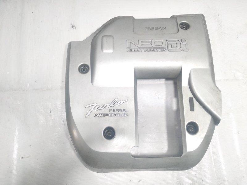 Пластиковая крышка на двс Nissan Terrano Regulus JLR50 ZD30DDTI 2001 передняя