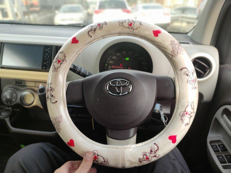 Оплетка на руль Toyota Passo KGC30 1KRFE 2010