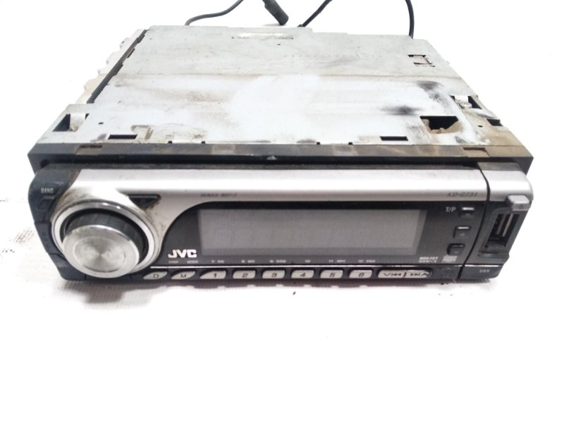Магнитофон Toyota Land Cruiser FJ80G 1HDT 1996 передний
