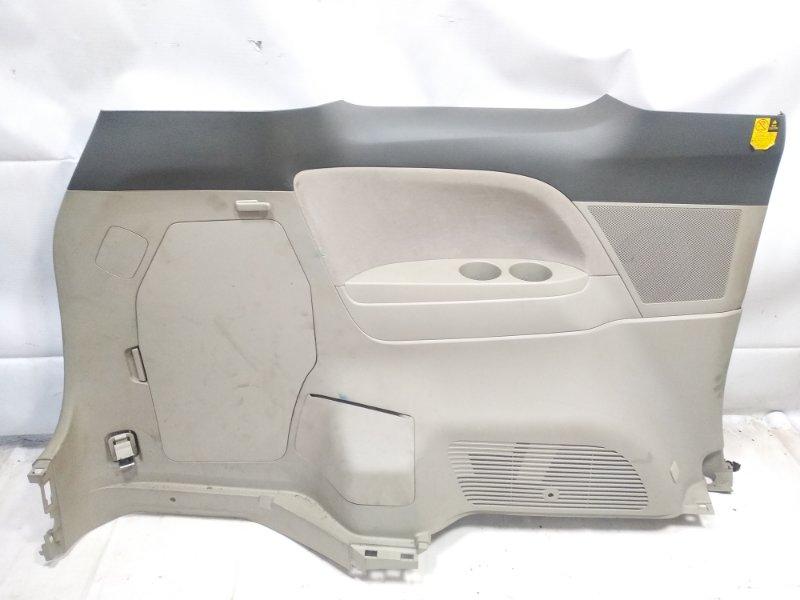 Обшивка багажника Toyota Estima AHR20W 2AZFXE 2009 задняя левая