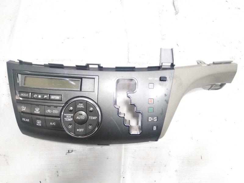 Блок управления климат-контролем Toyota Estima AHR20W 2AZFXE 2009 передний