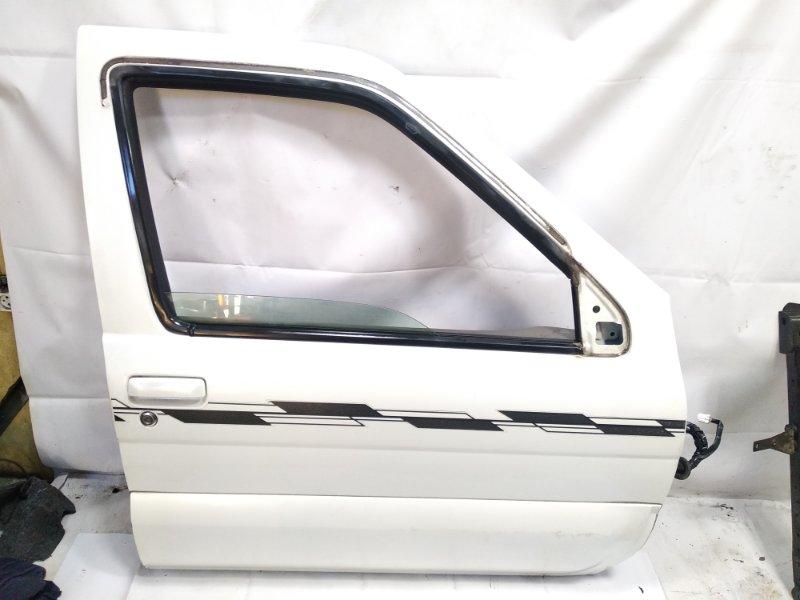 Дверь Nissan Terrano Regulus JLR50 VG33E 1999 передняя правая