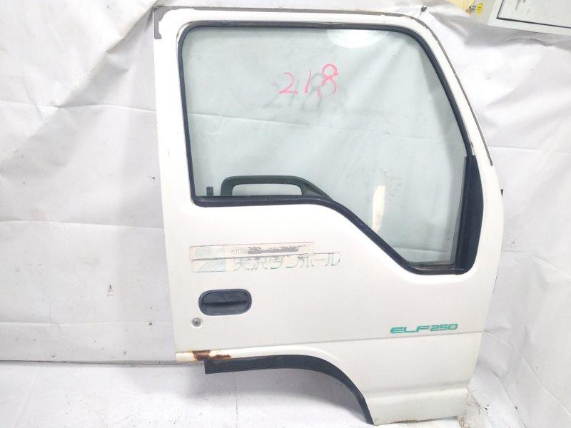Дверь Isuzu Elf NHR69E 4HF1 1997 передняя правая
