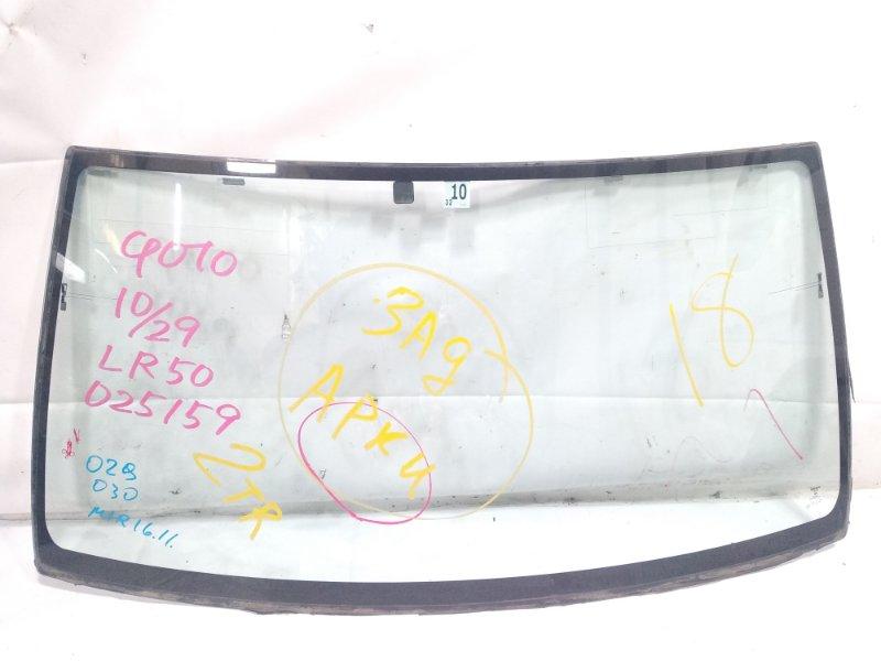 Лобовое стекло Nissan Terrano Regulus JLR50 VG33E 1999 переднее