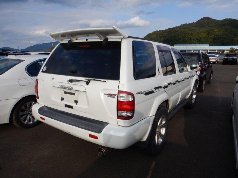 Спойлер Nissan Terrano Regulus JLR50 ZD30DDTI 2001 задний