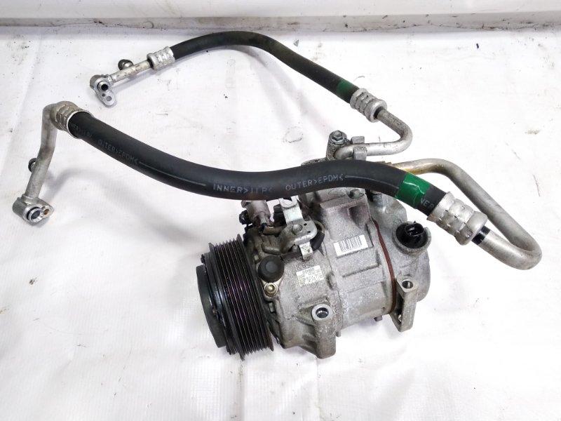 Компрессор кондиционера Lexus Rx350 GGL10 2GRFE 2009 передний