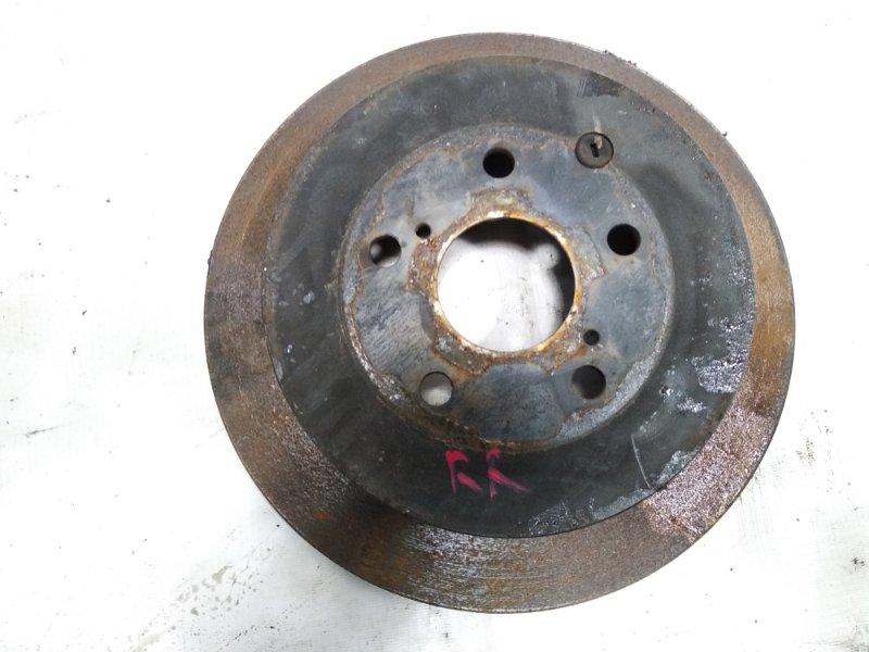 Тормозной диск Lexus Rx350 GGL10 2GRFE 2009 задний правый
