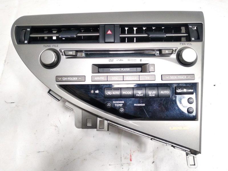 Магнитофон Lexus Rx350 GGL10 2GRFE 2009 передний