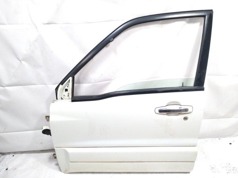 Дверь Suzuki Escudo TA52W J20A 2002 передняя левая