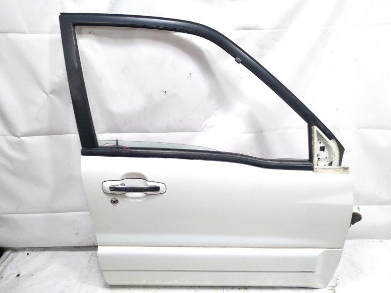 Дверь Suzuki Escudo TA52W J20A 2002 передняя правая