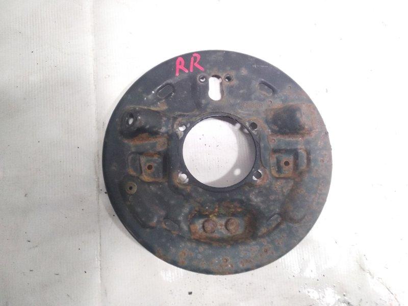 Кожух тормозного диска Suzuki Escudo TA52W J20A 2002 задний правый
