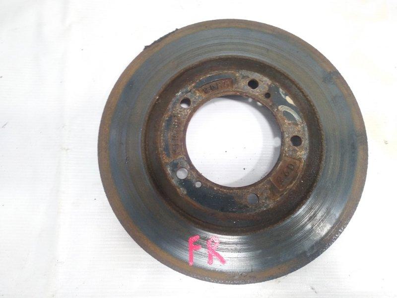 Тормозной диск Suzuki Escudo TA52W J20A 2002 передний правый