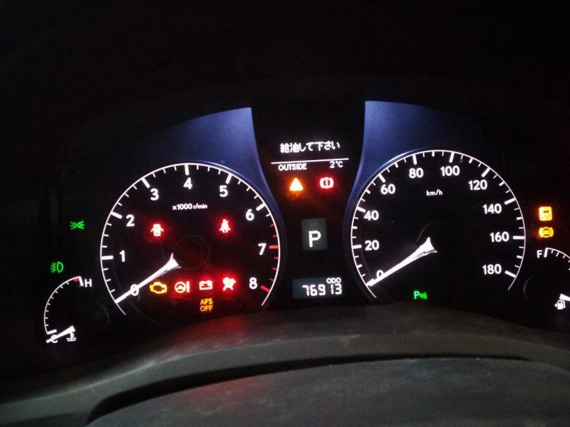 Спидометр Lexus Rx350 GGL10 2GRFE 2009 передний