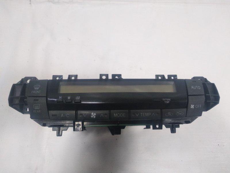 Блок управления климат-контролем Toyota Allion AZT240 1ZZFE 2005 передний