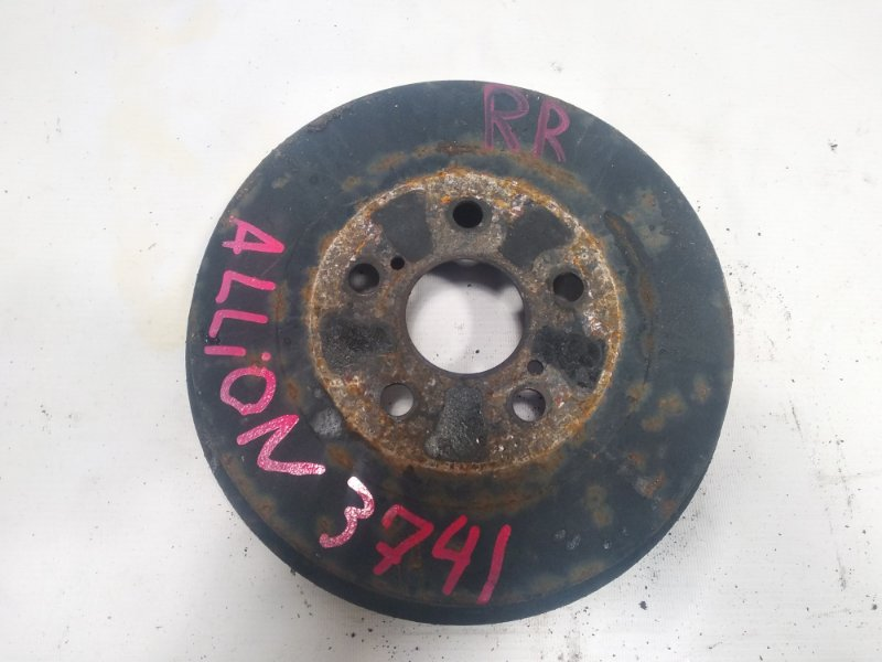 Тормозной барабан Toyota Allion ZZT245 1ZZFE 2005 задний правый