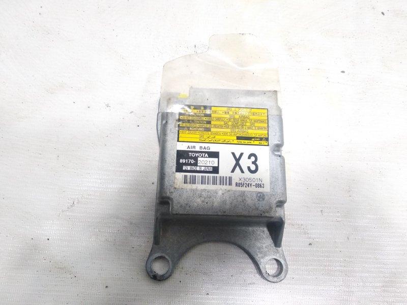 Блок управления airbag Toyota Allion AZT240 1ZZFE 2005 передний