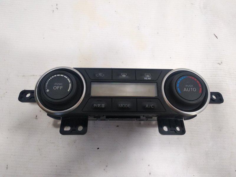 Блок управления климат-контролем Nissan Tiida JC11 MR18DE 2008 передний