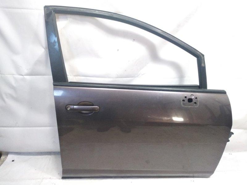 Дверь Nissan Tiida JC11 MR18DE 2008 передняя правая