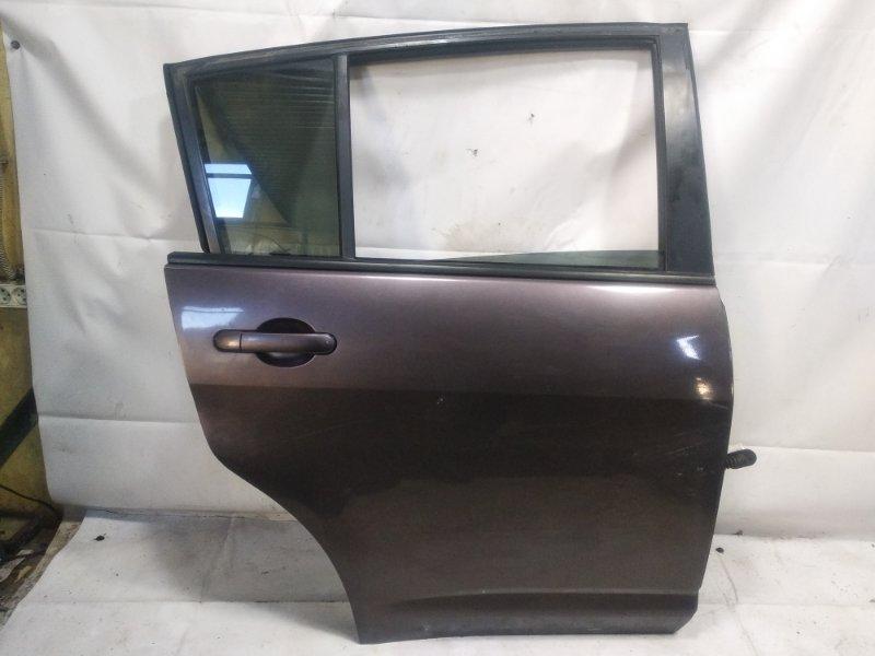 Дверь Nissan Tiida JC11 MR18DE 2008 задняя правая