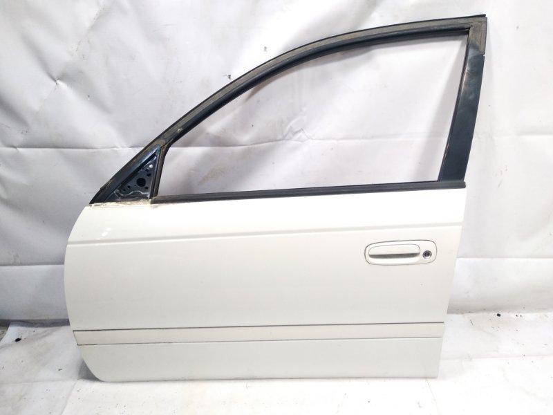 Дверь Toyota Caldina CT216 3CTE 2001 передняя левая