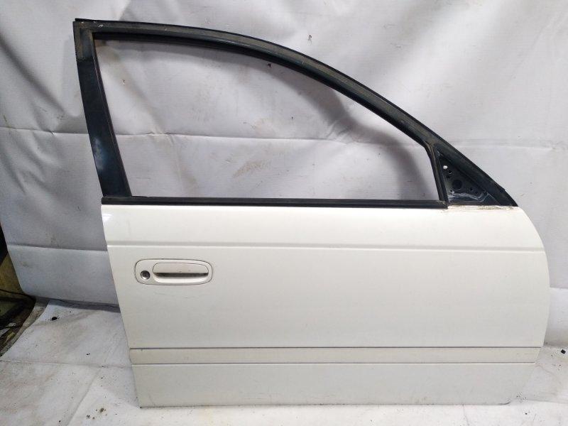 Дверь Toyota Caldina CT216 3CTE 2001 передняя правая