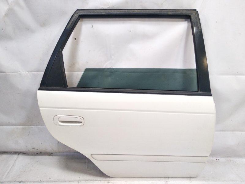 Дверь Toyota Caldina CT216 3CTE 2001 задняя правая