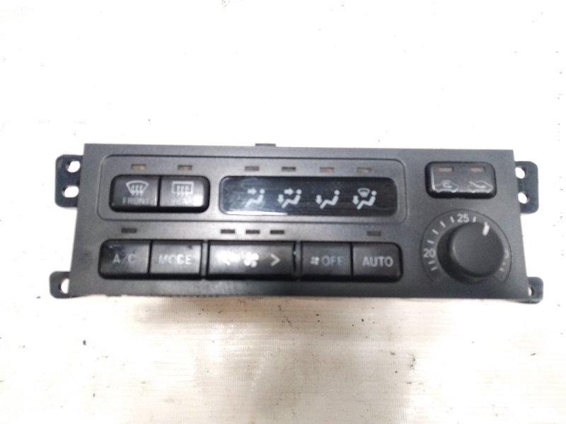 Блок управления климат-контролем Toyota Caldina CT216 3CTE 2001 передний