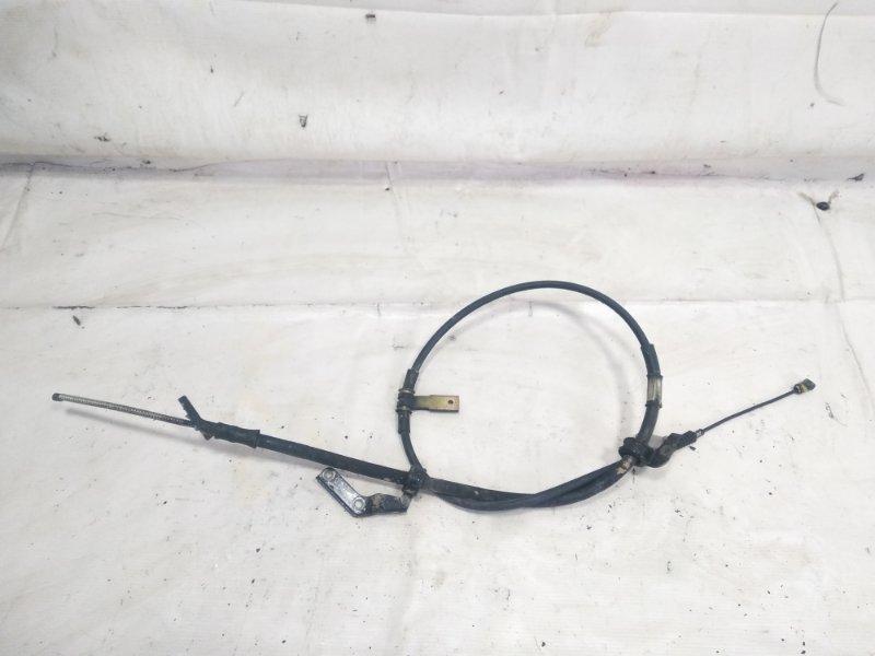 Тросик ручника Toyota Caldina CT215 3CTE 2001 задний левый