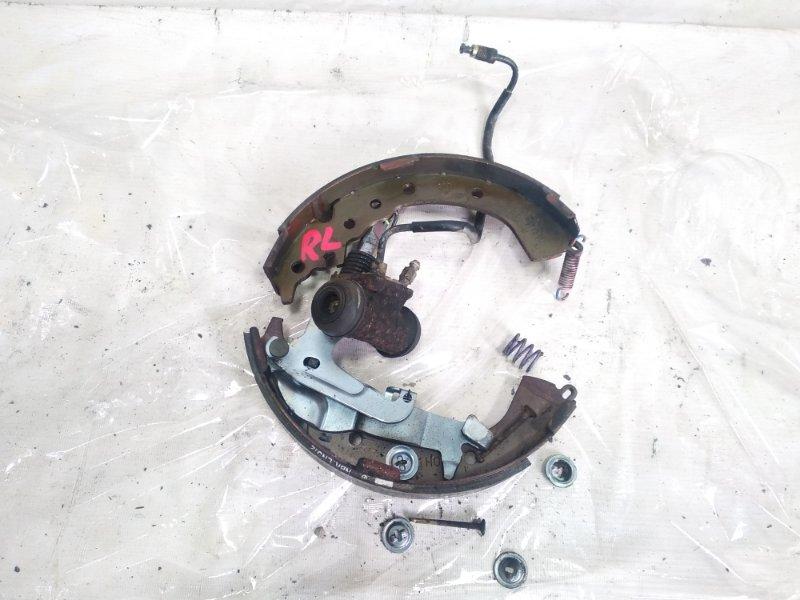 Механизм стояночного тормоза Toyota Caldina CT216 3CTE 2001 задний левый