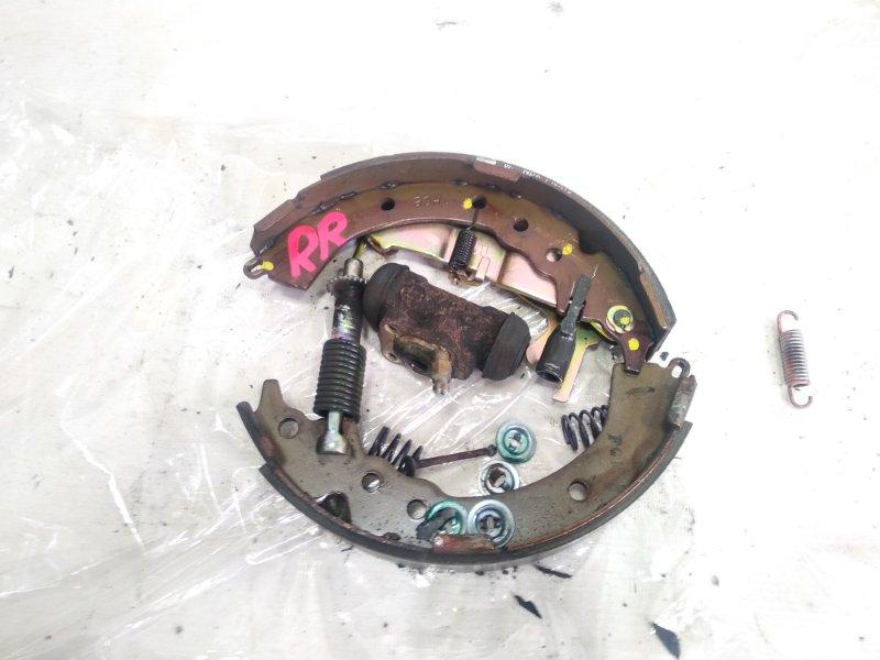 Механизм стояночного тормоза Toyota Caldina CT216 3CTE 2001 задний правый