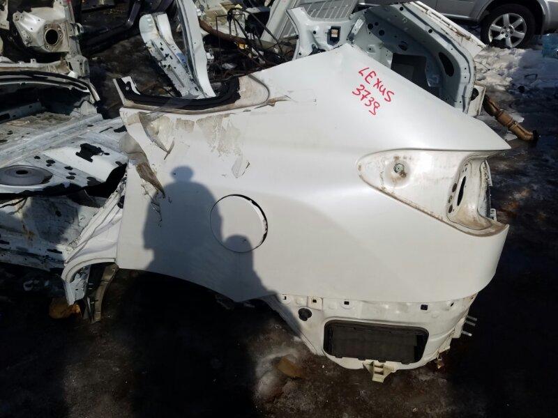 Крыло Lexus Rx350 GGL10 2GRFE 2009 заднее левое