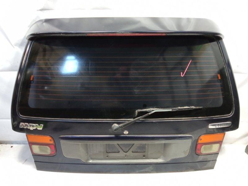 Дверь 5я Mazda Mpv LVLR G5E 1996