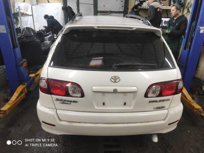 Бампер Toyota Caldina CT216 3CTE 2001 задний