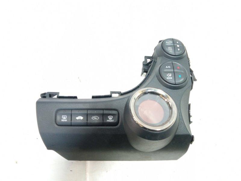 Блок управления климат-контролем Honda Fit GP1 L15A 2010 передний
