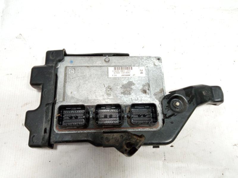 Блок управления двс Honda Fit GE8 L15A 2010 передний