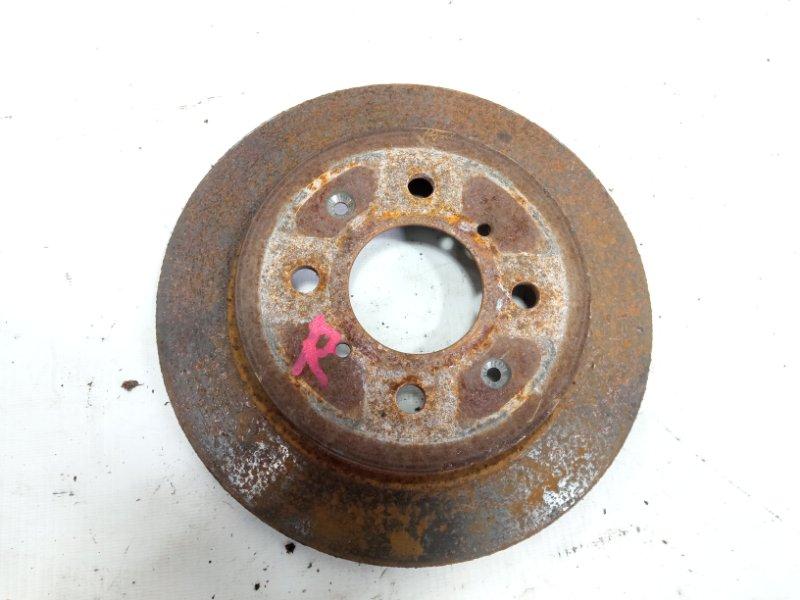 Тормозной диск Honda Fit GE8 L15A 2010 задний правый
