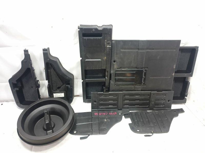 Обшивка багажника Toyota Caldina CT216 3CTE 2001 задняя